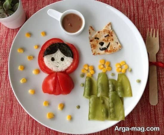 تزیین ظرف ناهار