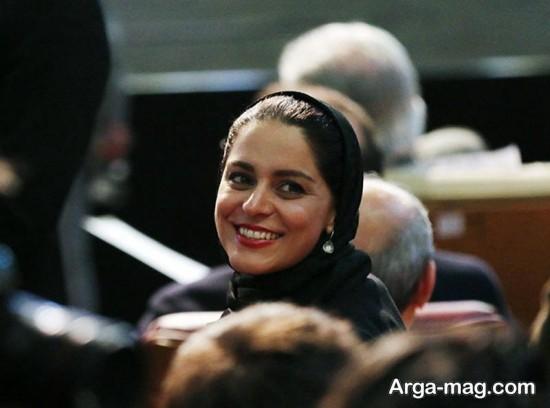 غزل شاکری در اختتامیه جشنواره فجر