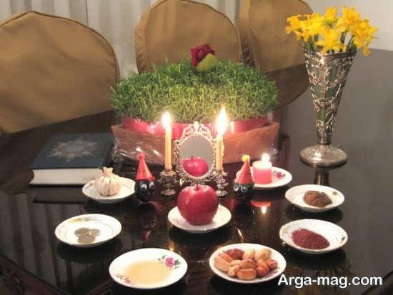 تزیین سفره عید نوروز
