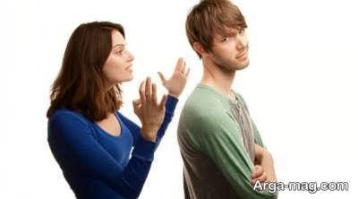 نکاتی درباره همسران لجباز