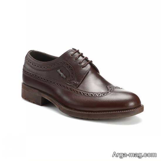 مدل خاص و شیک کفش مردانه چرم