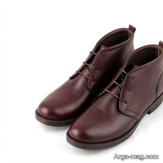 کفش مردانه با مدل خاص چرم