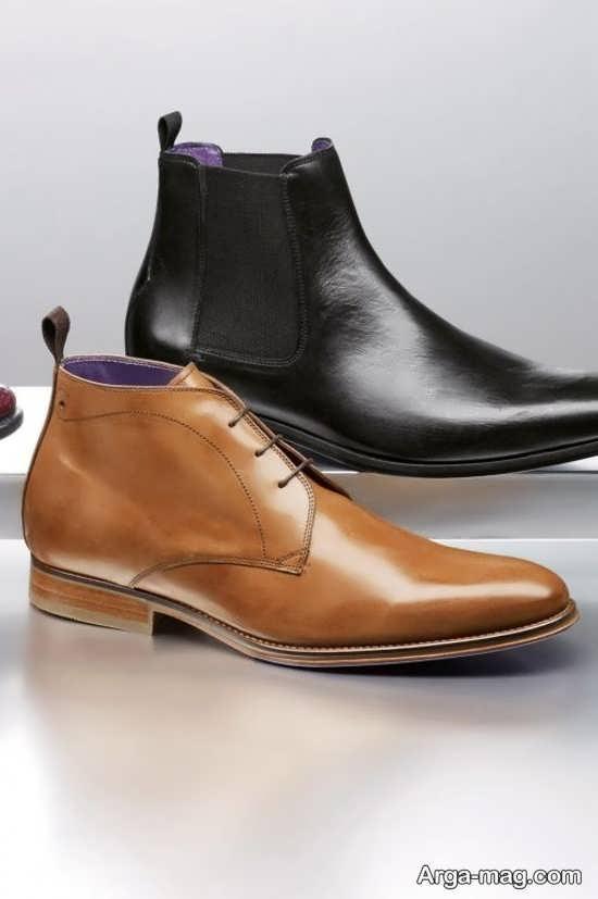 مدل کفش چرم مردانه خاص