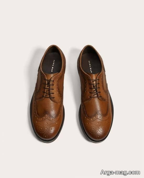 مدل کفش مردانه چرم جدید