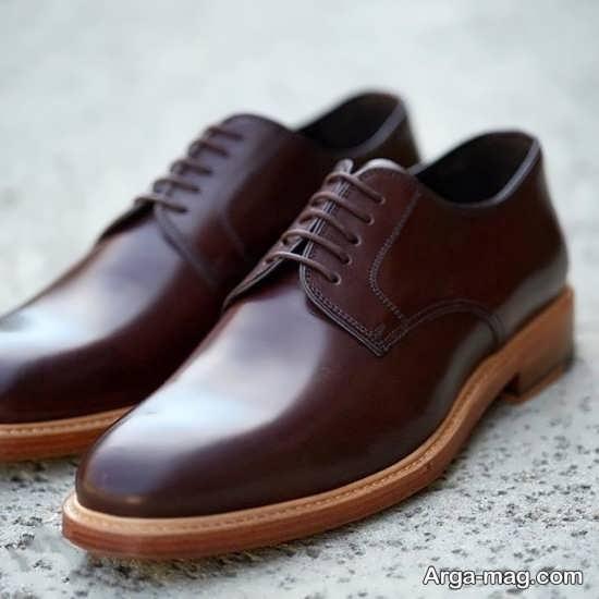 کفش متناسب داماد با رنگ فوق العاده