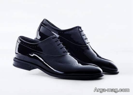 کفش ورنی ایتالیایی