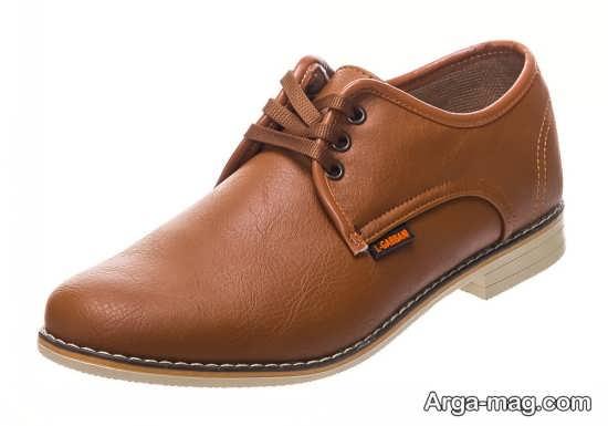 نمونه جدید کفش مردانه چرم