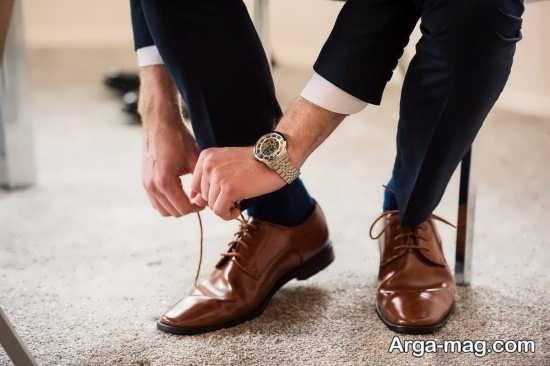 کفش برای استایل خاص داماد