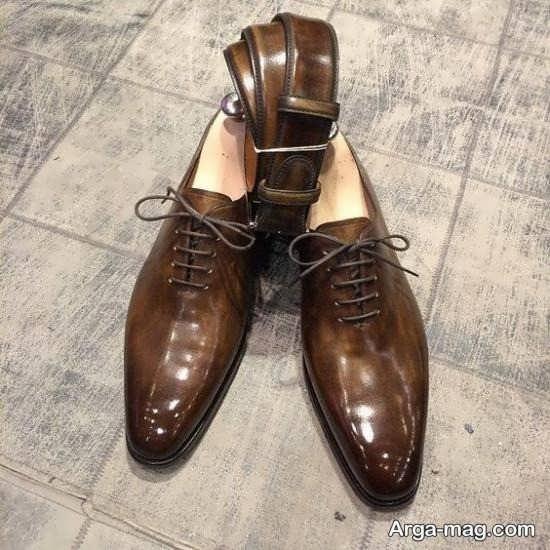 کفش و کمربند ست دامادی