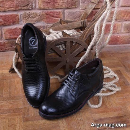 طراحی جدید کفش چرم مردانه
