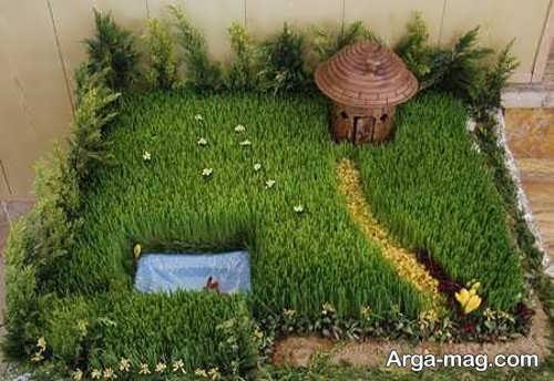 سبزه عید زیبا