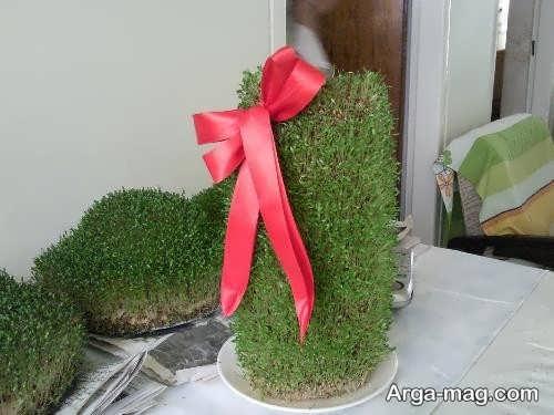 کاشت سبزه روی کوزه برای عید