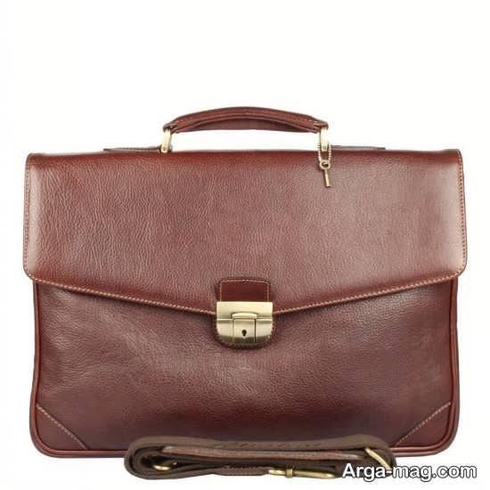کیف اداری مردانه چرم صنعتی