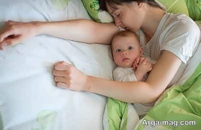 راه های مقابله با بی خوابی نوزاد