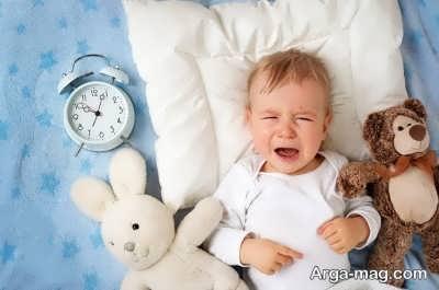 علت نخوابیدن نوزاد
