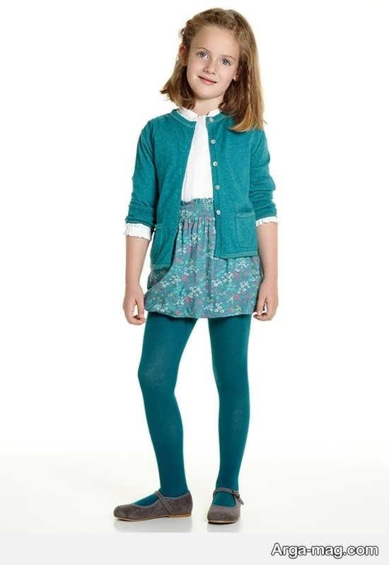 کت دخترانه با رنگ خاص