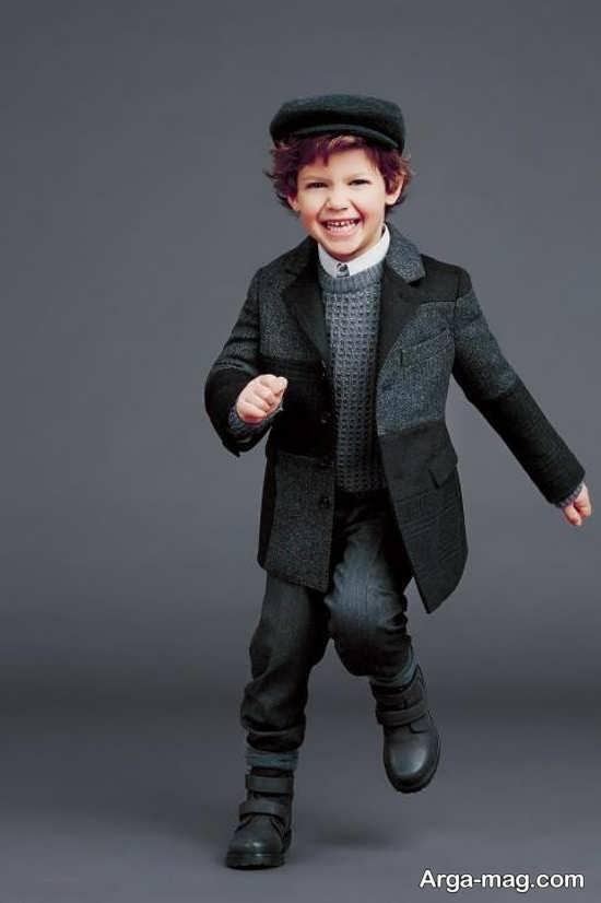 کت پسرانه با طرح خاص