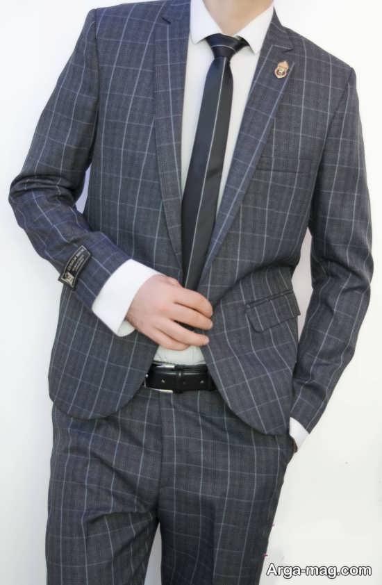 کت و شلوار مردانه با طرح خاص
