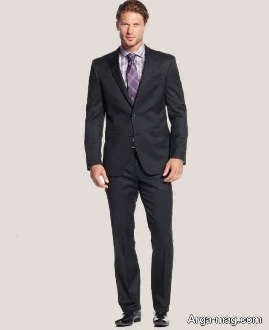 کت و شلوار سایز بزرگ برای افراد خوش پوش