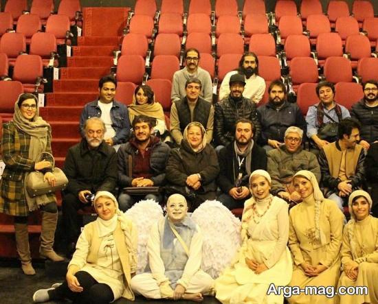 لیلا بلوکات در تماشاخانه پالیز تهران