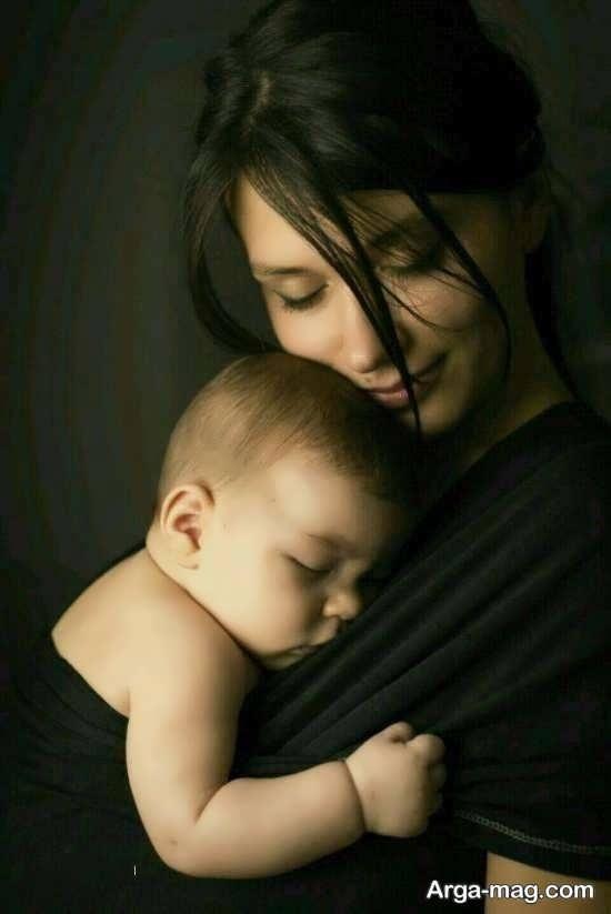 عکس جالب برای تبریک روز مادر