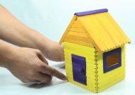 ساخت خانه با چوب بستنی