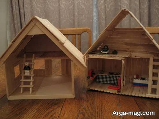 ساخت کاردستی چوبی
