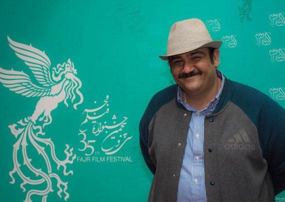 مهران غفوریان با همسرش در فیلم مرد همبازی شد