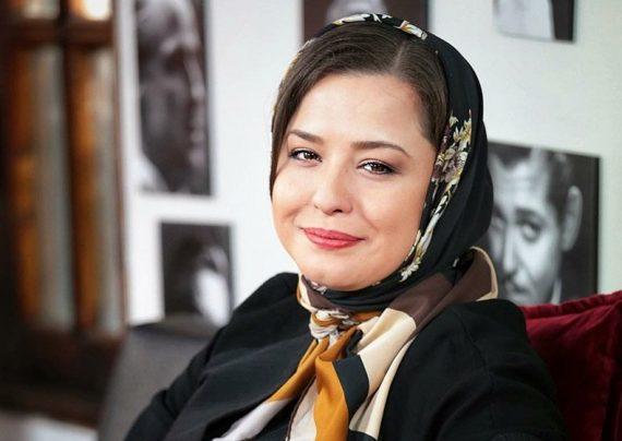 مهراوه شریفی نیا برای اکران فیلم دارکوب به سینما آزادی رفت