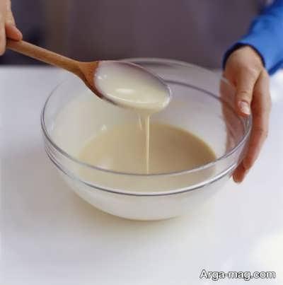 مخلوط کردن مواد پنکیک