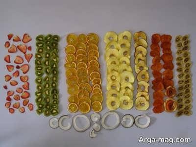 میوه های خشک شده و فواید آن