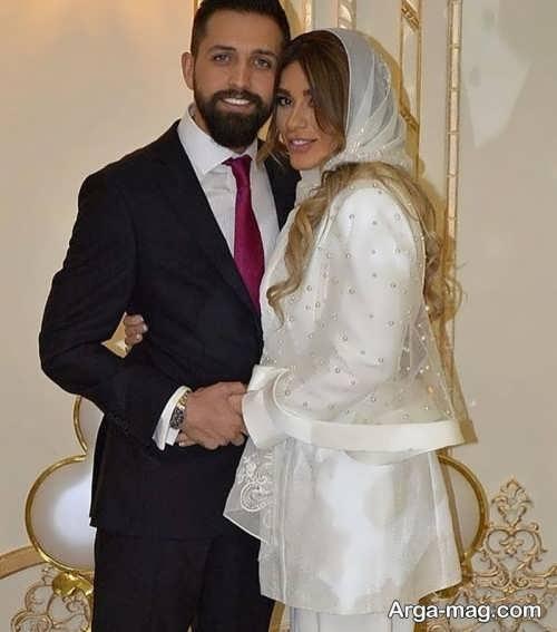 عکس محسن افشانی و همسرش