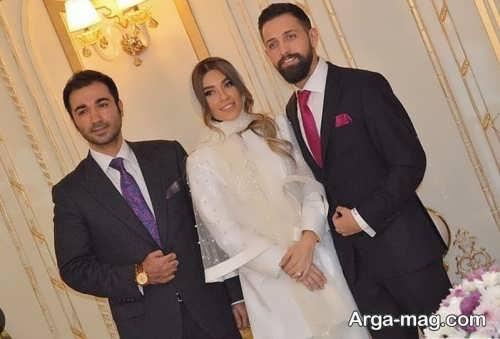 عکس هایی زیبا از مراسم ازدواج محسن افشانی