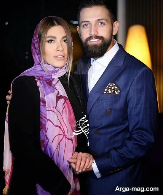 محسن افشانی و همسر جدیدش