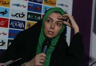 حضور آزاده نامداری بعد از مدت ها در پشت دوربین های رسانه