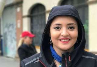 حضور نرگس محمدی در افتتاحیه گالری نقره آرش