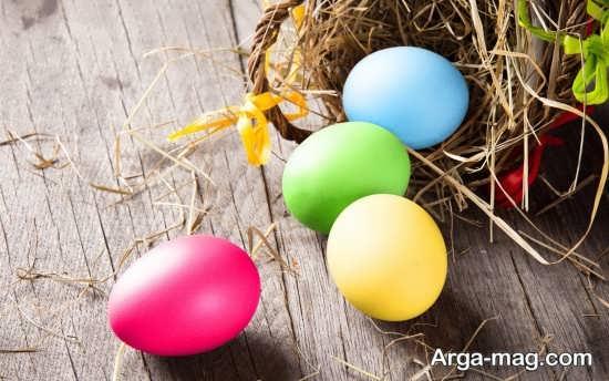 رنگ آمیزی زیبای تخم مرغ عید نوروز