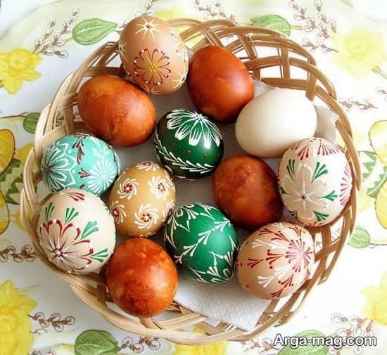 تزیین عالی تخم مرغ