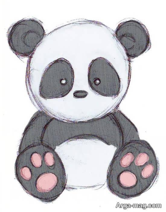 طراحی پاندا برای کودک
