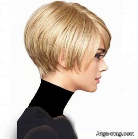 مدل موی کوتاه پر