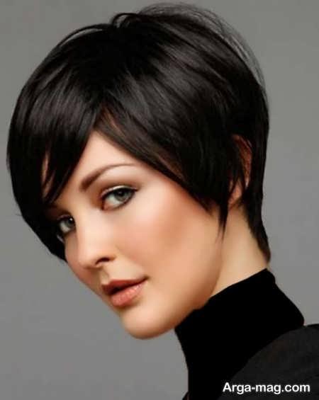 مدل مو کوتاه و ساده پر