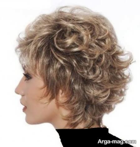 مدل مو پر کوتاه