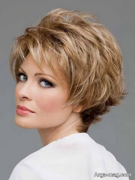 مدل موی پر کوتاه زنانه