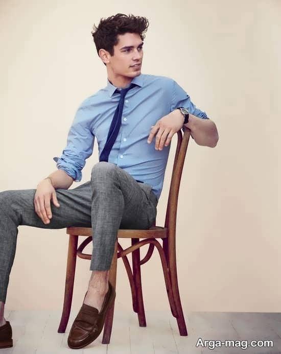 مدل پیراهن و شلوار مردانه تک