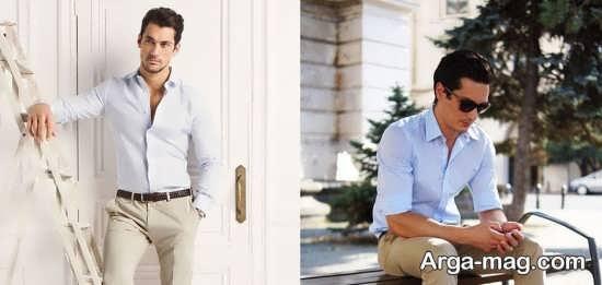 پیراهن و شلوار مردانه برند