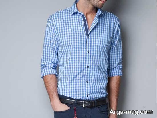 پیراهن مردانه با طرح شیک