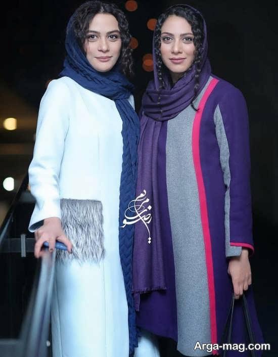 مارال فرجاد و مونا فرجاد در جشنواره فجر 96