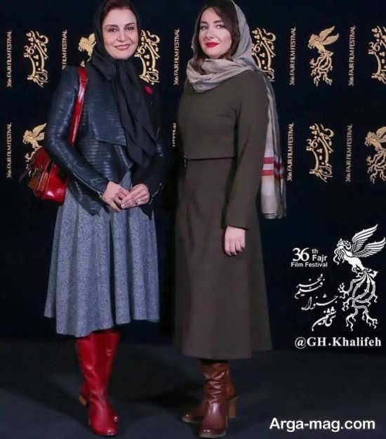 مریلا زارعی و هانیه توسلی در فیلم فجر 96