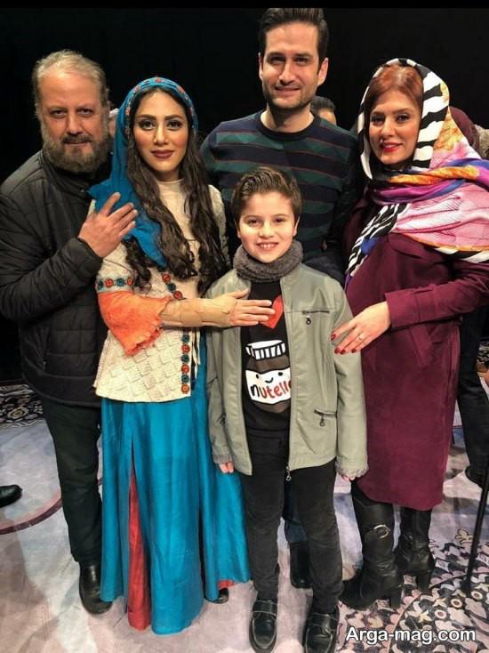 پویا امینی در تئاتر شیرهای خان بابا سلطنه