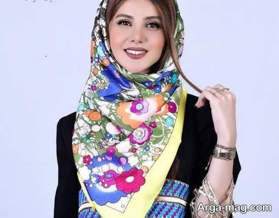 مدل روسری مجلسی شیک